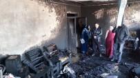ŞENYURT - İtfaiye Bir Aileyi Yanmaktan Son Anda Kurtardı