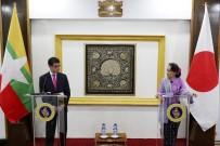 AUNG SAN SUU KYI - Japonya Dışişleri Bakanı Kono'dan Arakan Çağrısı