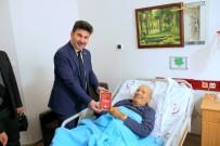 MUSTAFA DOĞAN - Karacoşkun'dan Şair Şahmaranoğlu'na Geçmiş Olsun Ziyareti