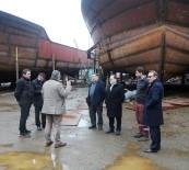DOLULUK ORANI - Karadeniz'de Gemi İmalatı Dünya Standartlarına Kavuştu