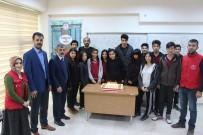 MOBİL UYGULAMA - Karikatür Eğitimlerini Tamamlayan Gençler Pasta Kesti