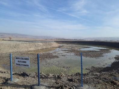Kazı Göleti Tamamlandı