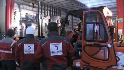Kızılay'dan İdlib'e Yardım