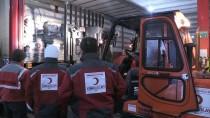 TÜRK KıZıLAYı - Kızılay'dan İdlib'e Yardım