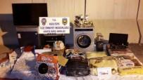Kızıltepe'de 6 Eve Giren Hırsızlar, Polisten Kaçamadı