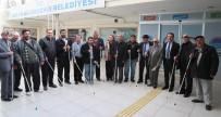 ENGELLİLER HAFTASI - Mersin'de Görme Engellilere Beyaz Baston