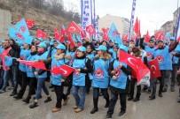 Metal İşçileri MESS'i Protesto Yürüyüşü Yaptı