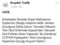 'Organ Mafyası' Paylaşımına Gözaltı