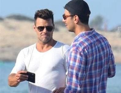 Ricky Martin ile Suriyeli sevgilisi evlendi
