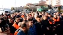 DAVUL ZURNA - Taşeron İşçilerden Davullu Zurnalı Meşaleli Kutlama