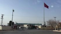 RAKKA - Tel Abyad'a Terör Örgütünün Bez Parçaları Asıldı