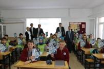 MEHMET UZUN - THK, Öğrencilere Defter Dağıttı