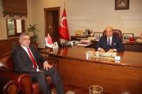 HÜSEYIN KALAYCı - Yeni Orman Müdürü Kalaycı,Başkan Arslan'ı Ziyaret Etti