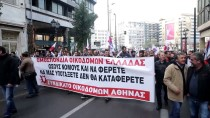 KURTARMA PAKETİ - Yunanistan'da 'Kemer Sıkma' Karşıtı Gösteride Arbede
