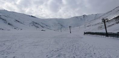 Abalı Kayak Tesisi Kar Bekliyor