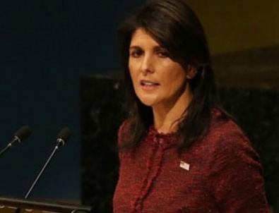 Nikki Haley'den İran açıklaması