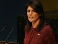 YAZILI AÇIKLAMA - Nikki Haley'den İran açıklaması