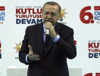Cumhurbaşkanı Erdoğan: Teslim olmazlarsa orayı başlarına yıkacağız