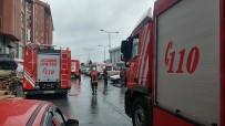İTFAİYE ERİ - Başakşehir Ayakkabıcılar Sitesi'nde Yangın
