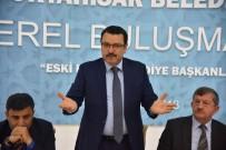 Başkan Genç,  Ortahisar İlçe Belediyesini Oluşturan Eski Beldelerin Belediye Başkanları  Bir Araya Geldi.