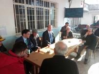 SOSYAL BELEDİYECİLİK - Başkan Mesut Özakcan, Mahalle Ziyaretlerini Sürdürüyor