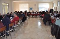 BORU HATTI - Başkan Özkan, Mimar Ve Mühendislerle Buluştu