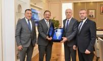 AHMET TAN - Başkan Saraçoğlu'ndan Bakan Öshaseki'ye Teşekkür Ziyareti