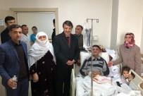 KAYHAN TÜRKMENOĞLU - Başkan Türkmenoğlu'ndan Hasta Ziyareti