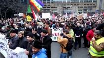 BELÇIKA - Belçika'da Mülteci Ve Göç Bakanı Francken Protesto Edildi