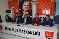KESMETEPE - CHP Besni İlçe Gençlik Kolları Başkanlığında Kongre Heyecanı Yaşandı