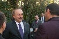 DIŞİŞLERİ BAKANLARI - Dışişleri Bakanı Mevlüt Çavuşoğlu Los Angeles'da Yaşayan Türklerle Bir Araya Geldi