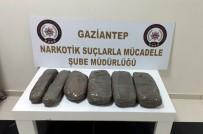 GAZIANTEP EMNIYET MÜDÜRLÜĞÜ - Gaziantep'te Otomobilde 10 Kilo Eroin Ele Geçirildi