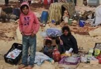 İDLIB - İdlib'den Türkiye Sınırına Göç Başladı