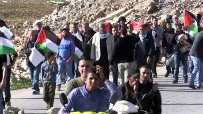 İsrail Askerleri Batı Şeria'daki Gösteriye Müdahale Etti