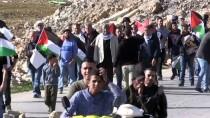 BOĞULMA TEHLİKESİ - İsrail Askerleri Batı Şeria'daki Gösteriye Müdahale Etti