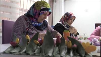 Kanserli Kadınlar İçin Hastanede El Sanatları Kursu