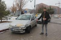 SIVAS CUMHURIYET ÜNIVERSITESI - Kaza Yapan Sürücünün Anlayışı Şaşırttı