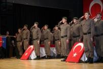 YEMİN TÖRENİ - Kısa Dönem Jandarma Erleri Yemin Etti