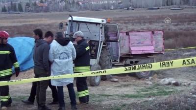 Konya'da Traktörün Altında Kalan Çiftçi Öldü