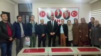 LABORATUVAR - MHP İl Başkanı Avşar, Taşeron İşçilerin Sorunlarını Dinledi