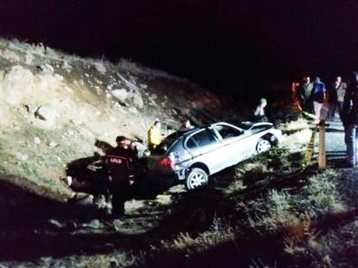 Niğde'de Otomobil Takla Attı Açıklaması 2 Ölü, 2 Yaralı