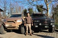 ARAZİ ARACI - Hurdacıdan Aldığı Parçalarla Arazi Araçları Tasarlıyor