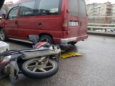 Samsun'da Trafik Kazası Açıklaması 1 Yaralı