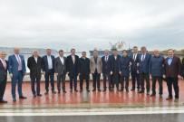 TURAN ÇAKıR - Samsunspor'a Belediyelerden Para Desteği