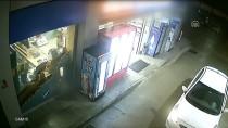 KAYAPA - Silahlı Ve Kar Maskeli Soygun Güvenlik Kamerasında