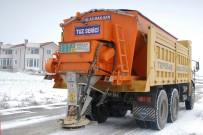 İŞ MAKİNESİ - Tepebaşı Belediyesi Kar İle Mücadeleye Hazır