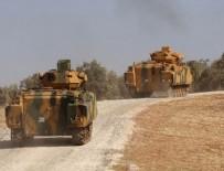 SINIR KARAKOLU - TSK, Afrin'de PYD mevzilerini vuruyor