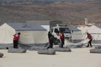 TÜRK KıZıLAYı - Türk Kızılayı İdlib'te Yeni Çadır Kentler Kuruyor