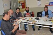 MEHMET USTA - Ahşabı Sanata Dönüştürüyorlar