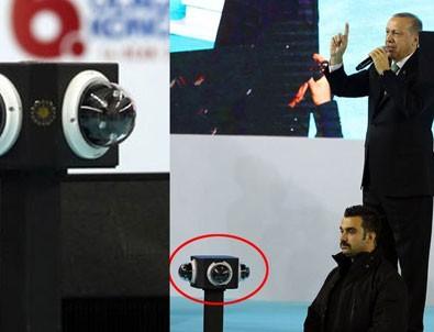 AK Parti kongresinde dikkat çeken görüntü! İlk kez kullanıldı